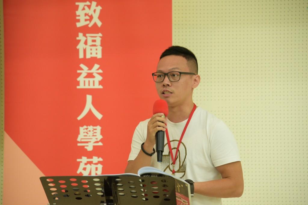 高雄福氣教會陳炳宏老師。