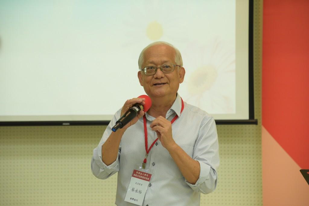 高雄武昌教會蔡永裕校長。